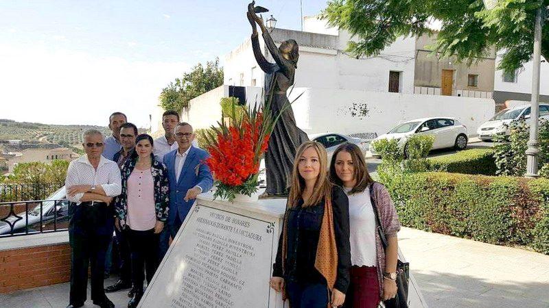 homenaje fusilados guerra civil de Bonares