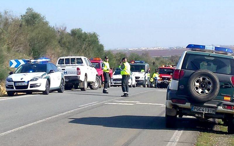 accidente camion hormigonera