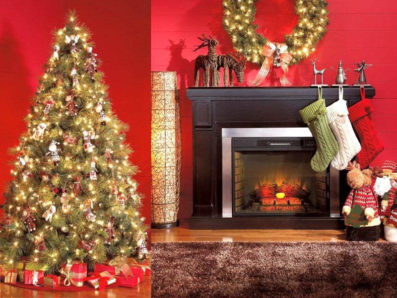 decoracion navideña de interior