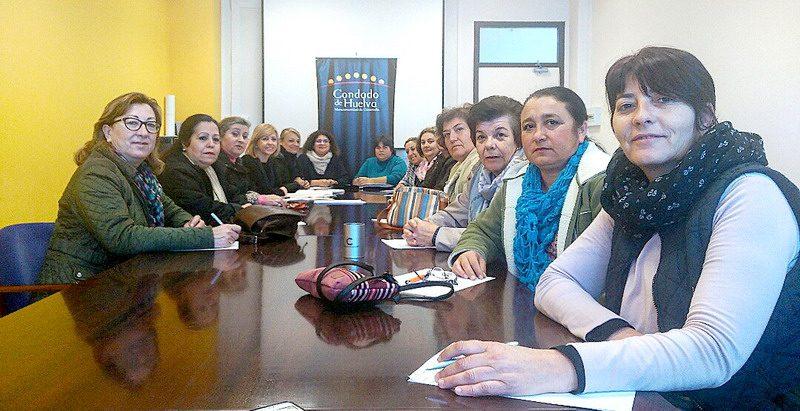 Asociaciones de mujeres condado de huelva