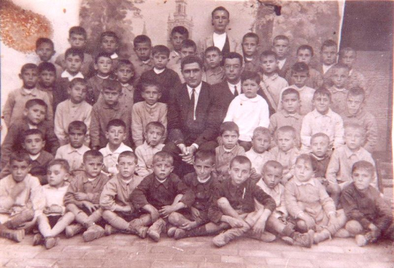 escuela de bonares en los años 30