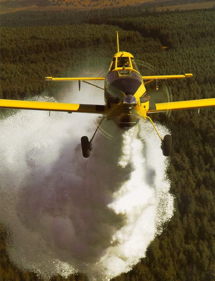 medios aereos incendio riotinto
