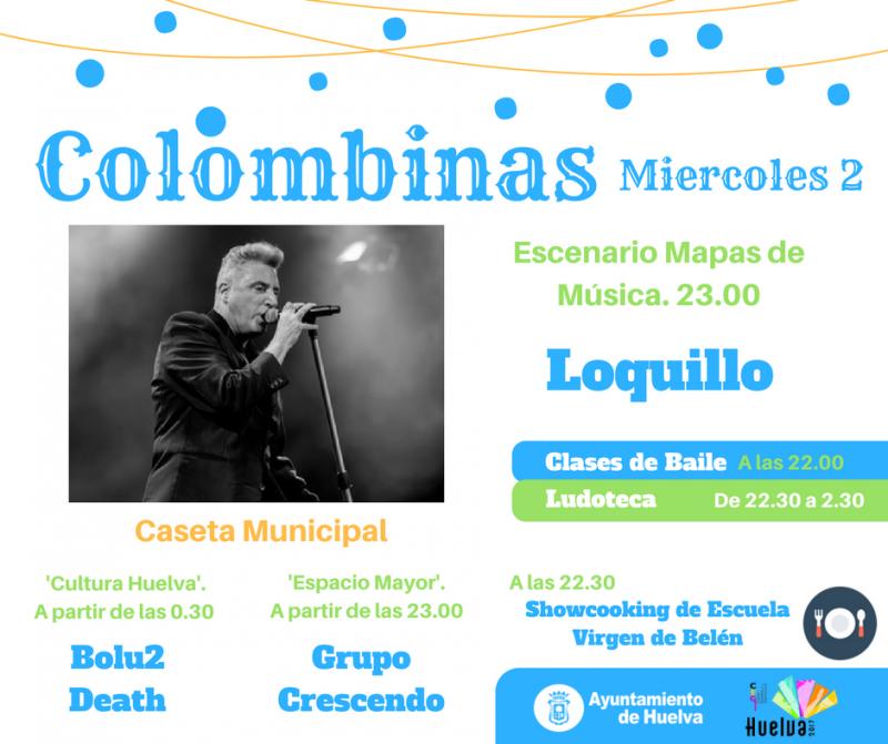 colombinas 2017 loquillo