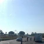 Muere un ciclista de Bonares atropellado por un coche a la salida de Bonares.