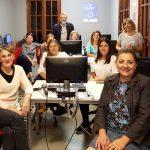 """Las mujeres del Condado se fotografían para visibilizar su importancia en la comarca bajo el lema """"Igualdad sostenible"""""""