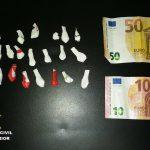 Detenido un varón por tráfico de drogas en la localidad de Palos de la Frontera