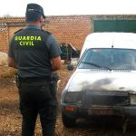 Detenido un varón por incendiar varios vehículos en Almonte.