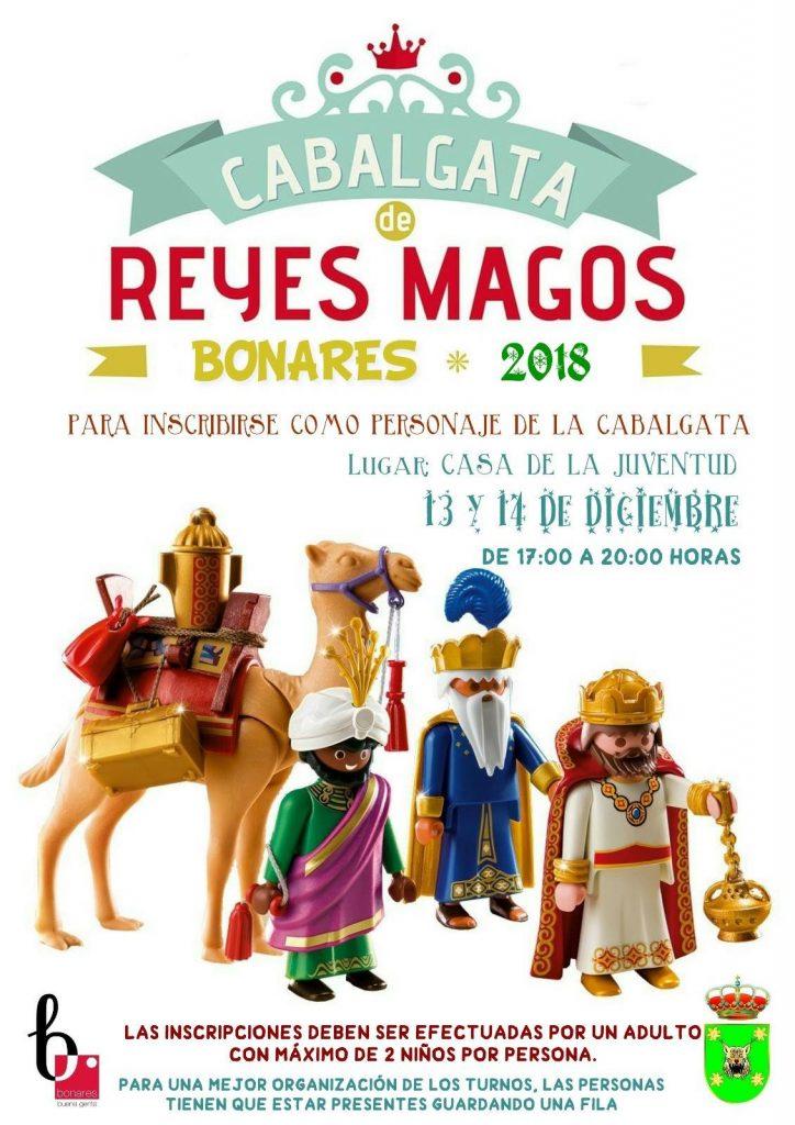 inscribete cabalgata reyes Bonares